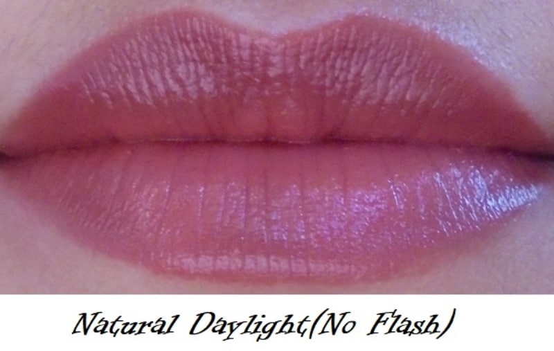 Maybelline Colorshow Lipstick 309 Caramel Custard Review 6