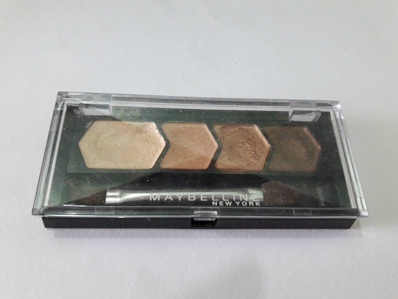 Maybelline Diamond Glow Eyeshadow by Eyestudio 01 Copper Brown 2