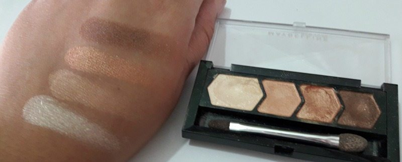 Maybelline Diamond Glow Eyeshadow by Eyestudio 01 Copper Brown 4