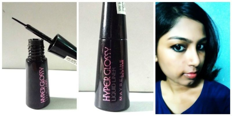 Maybelline Hyperglossy Liquid Liner Black Review 6