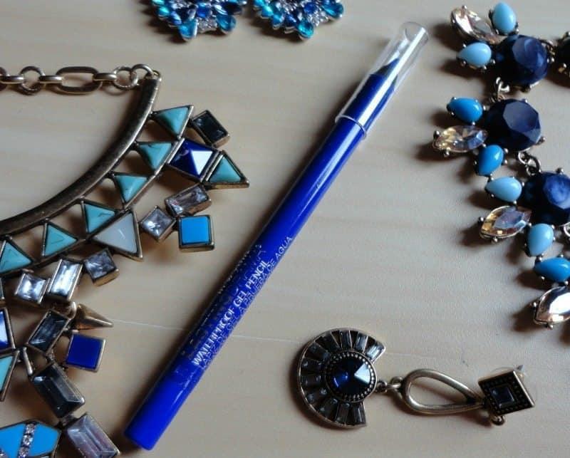 Maybelline Lasting Drama by Eyestudio Waterproof Gel Pencil Lustrous Sapphire