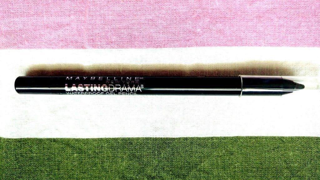 Maybelline Lasting drama Eyestudio Waterproof Gel Pencil Smooth Charcoal Review 2