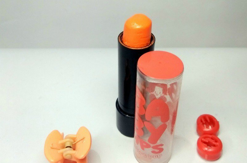 maybelline new york baby lips electro pop oh orange  review