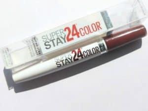 Maybelline New York Superstay 24 Color 2 Step Lipstick Everlasting Wine