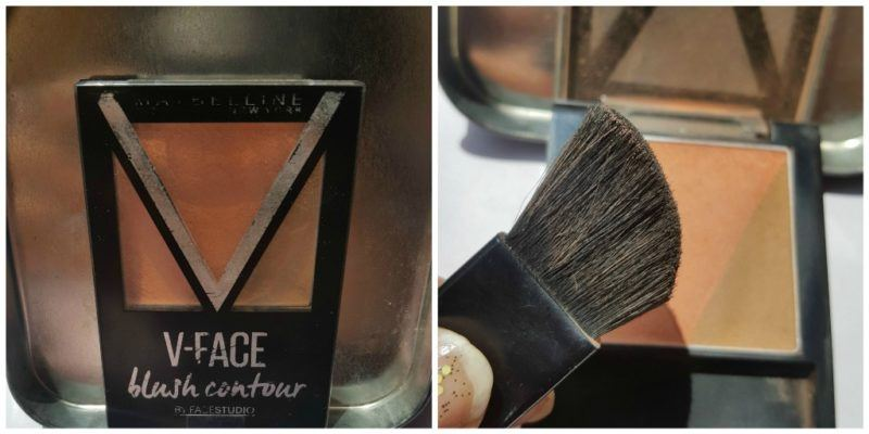 Maybelline New York V-Face Blush Contour Brown by Face Studio Review 4