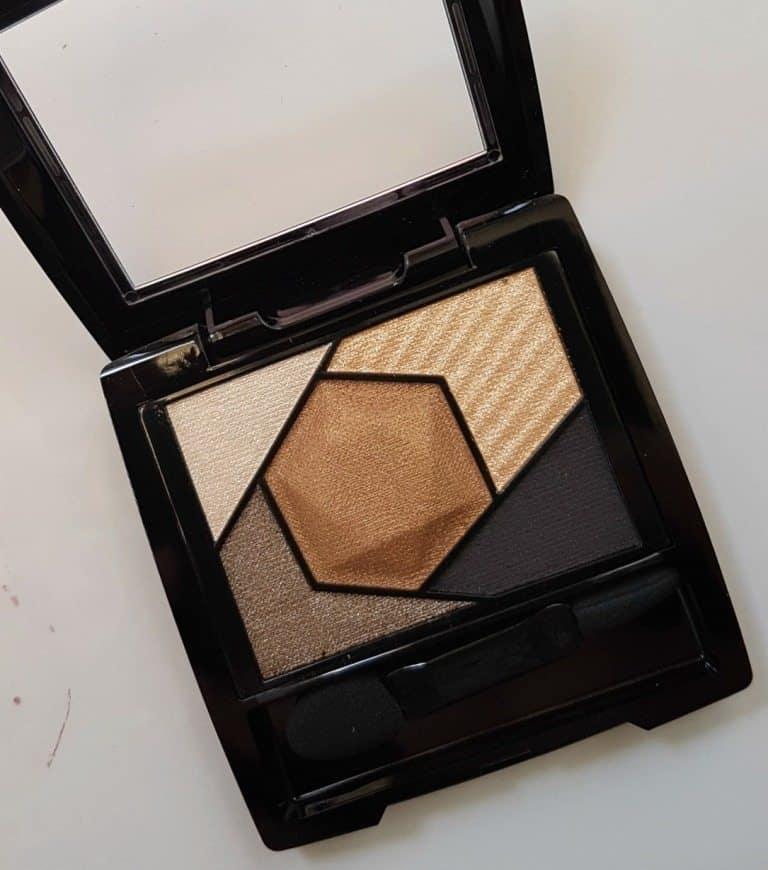 Maybelline New York color sensational Diamonds Eye shadow Topaz Gold Review 1