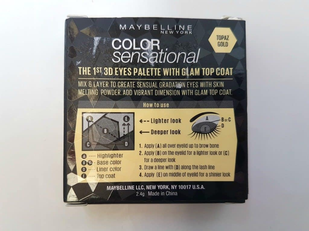 Maybelline New York Color Sensational Diamonds Eye Shadow