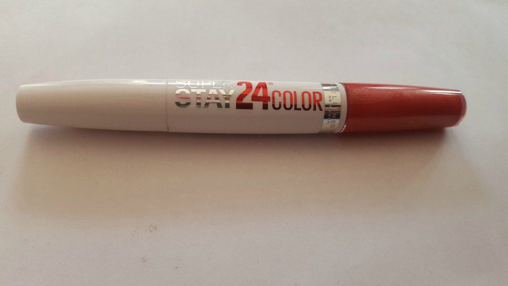 Maybelline Superstay 24 Hr Lip Color Continuous Coral , Maybelline Superstay 24 Hr , maybelline continuous coral
