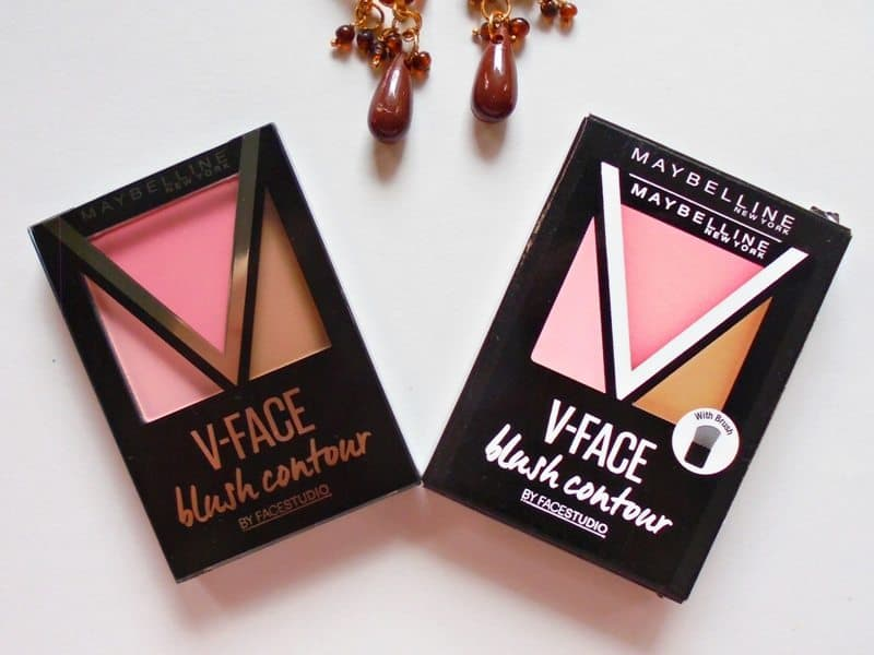 Maybelline V-Face Pink Blush Contour Review