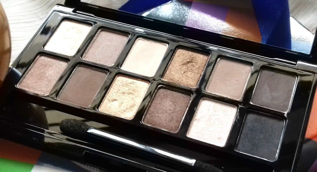 Maybelline the Nudes Palette Review 3