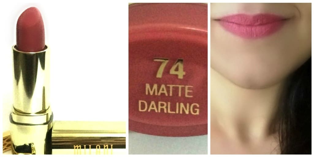 Milani Matte Lipstick Darling