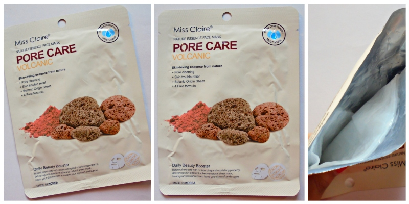 Miss Claire Nature Essence Face Mask Pore Care VolcanicMiss Claire Nature Essence Face Mask Pore Care Volcanic