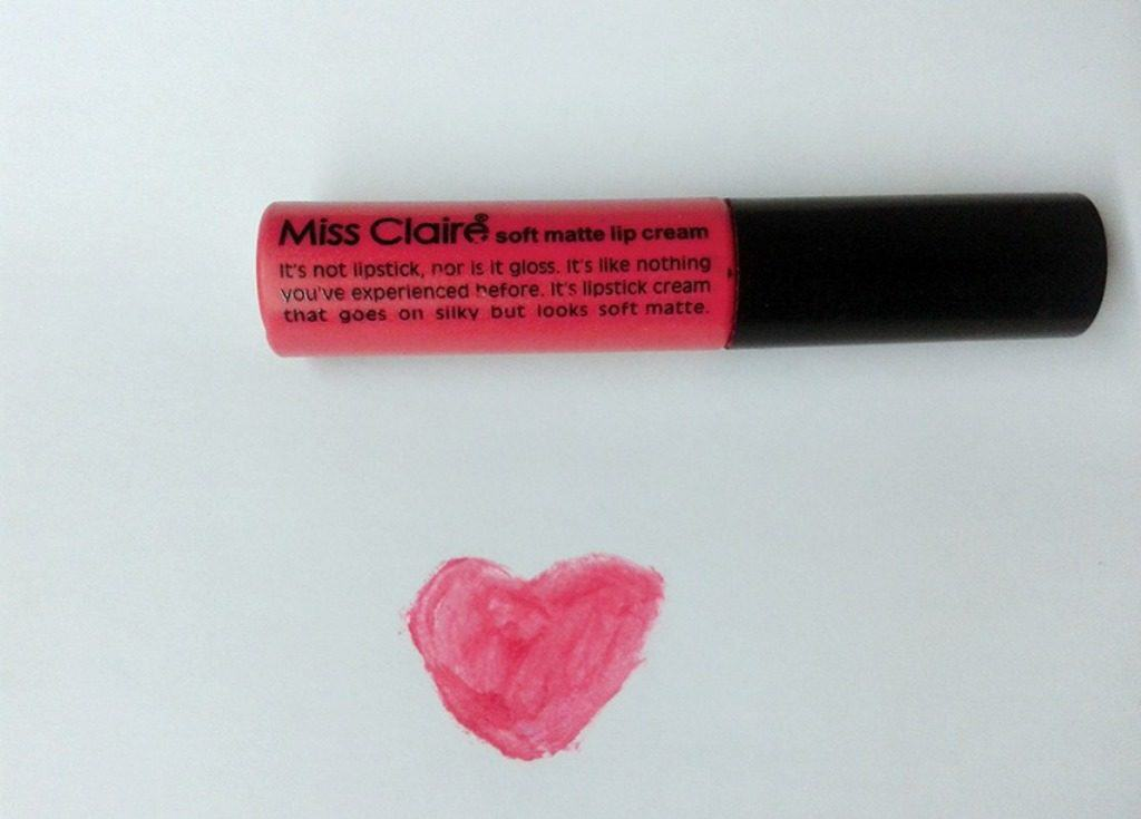 Miss Claire Soft Matte Lip Cream Shade 16A 1