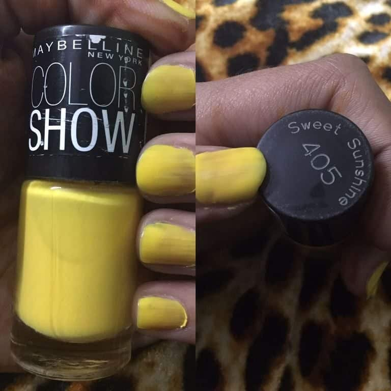 My Collection of Maybelline Colorshow Nail Polishes 2