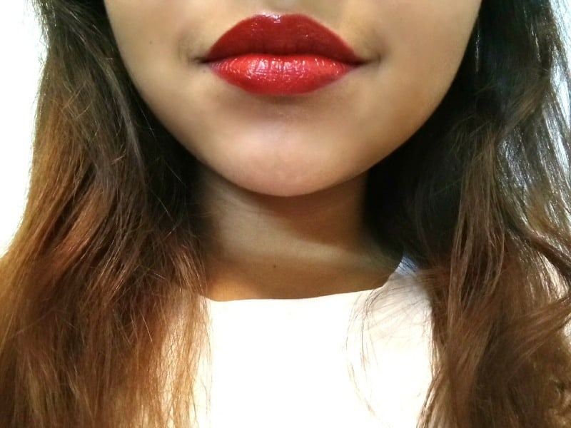 NYX Butter Lipstick Afternoon Heat 4