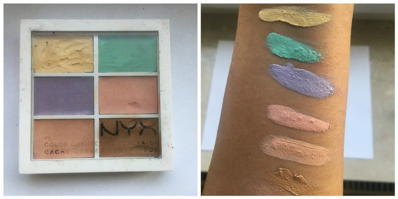 NYX Color Correcting Palette Review