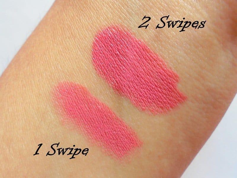 NYX Extra Creamy Round Lipstick Tea Rose 4