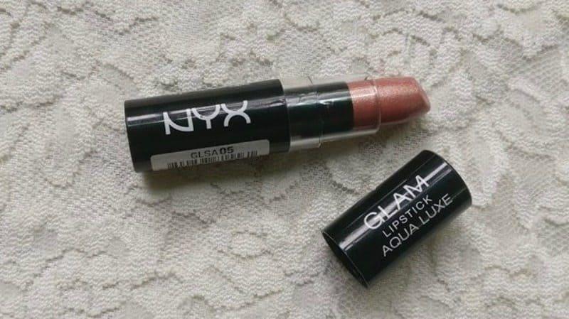 NYX Glam Aqua Luxe Lipstick