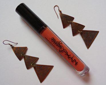 NYX Lip Lingerie Seduction Review