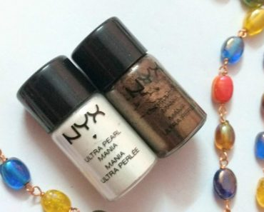 NYX Loose Pearl Eyeshadow Pigment Walnut And White Pearl 1
