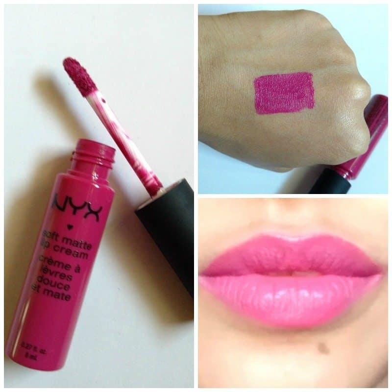 NYX Prague Soft Matte Lip Cream  6