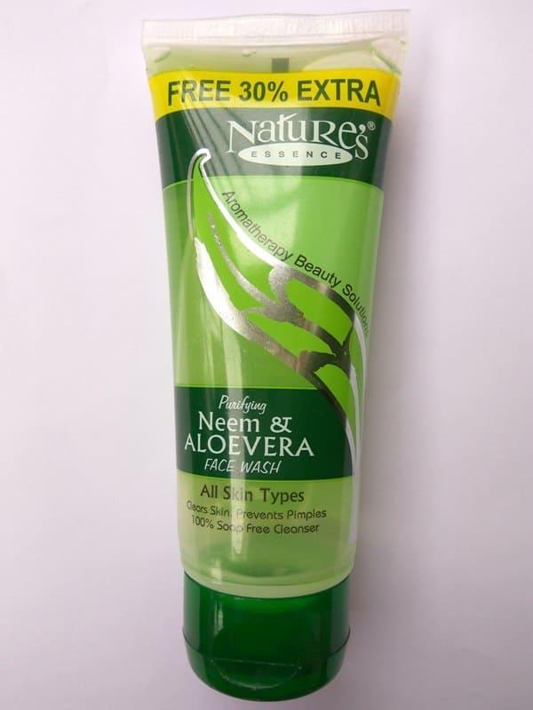 Nature's Essence Purifying Neem & Aloe Vera Facewash