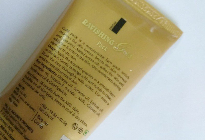 Nature's Gold Facial Kit 2