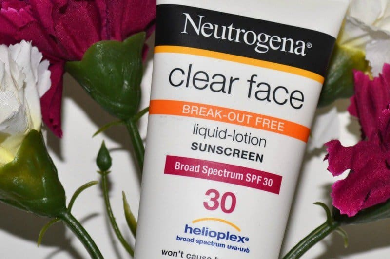 Neutrogena Clear Face Sunscreen Liquid Lotion 1