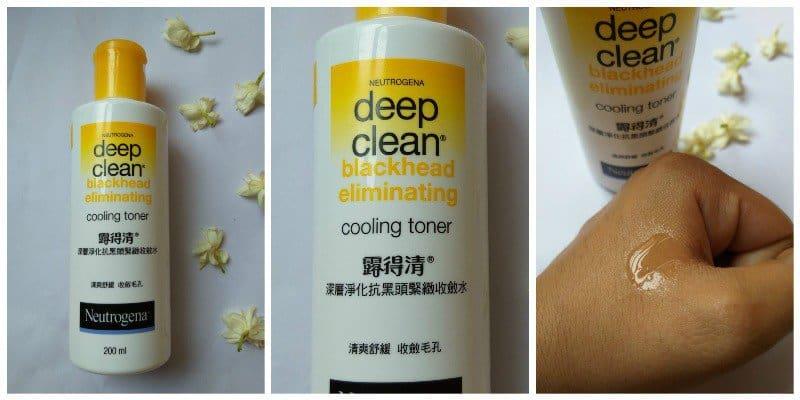 Neutrogena Deep Clean Blackhead Eliminating Cooling Toner