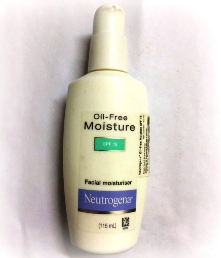 Neutrogena Oil Free Moisturizer SPF 15 Review