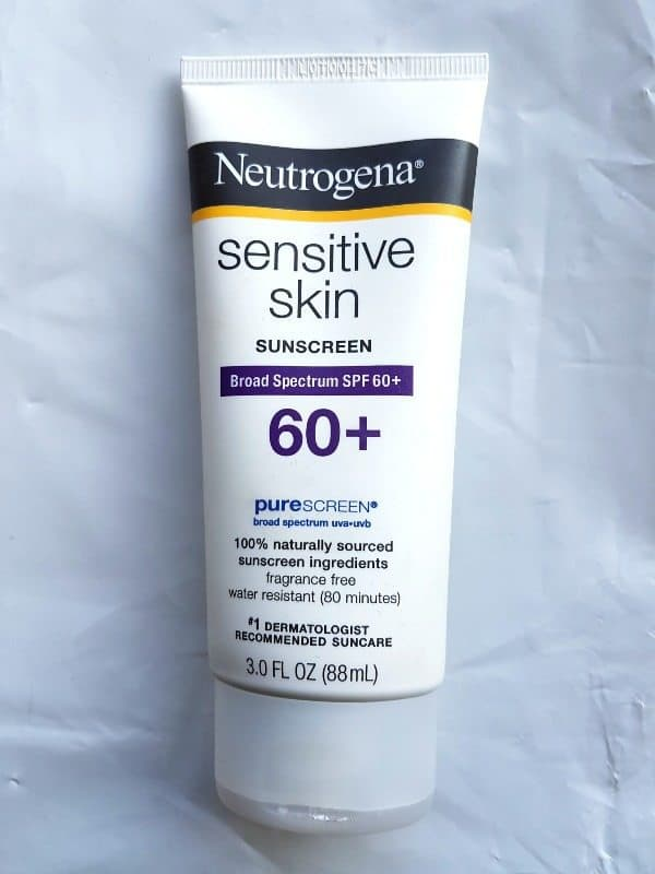 Neutrogena Sensitive Skin Sunscreen Broad Spectrum SPF 60+ Review