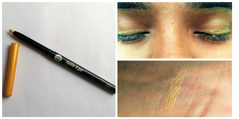 Nicka K Nk Auto Eyeliner Light Goldenrod