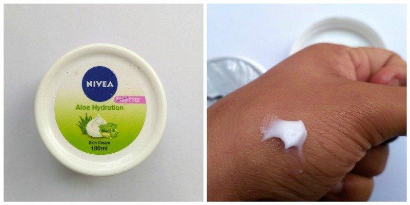 Nivea Aloe Hydration Skin Cream