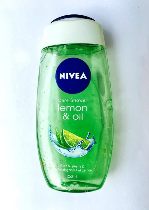 Nivea Bath Care Lemon and Oil Shower Gel 3