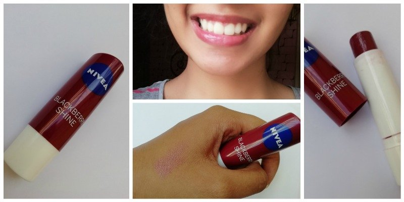 Nivea Blackberry Shine Lip Balm