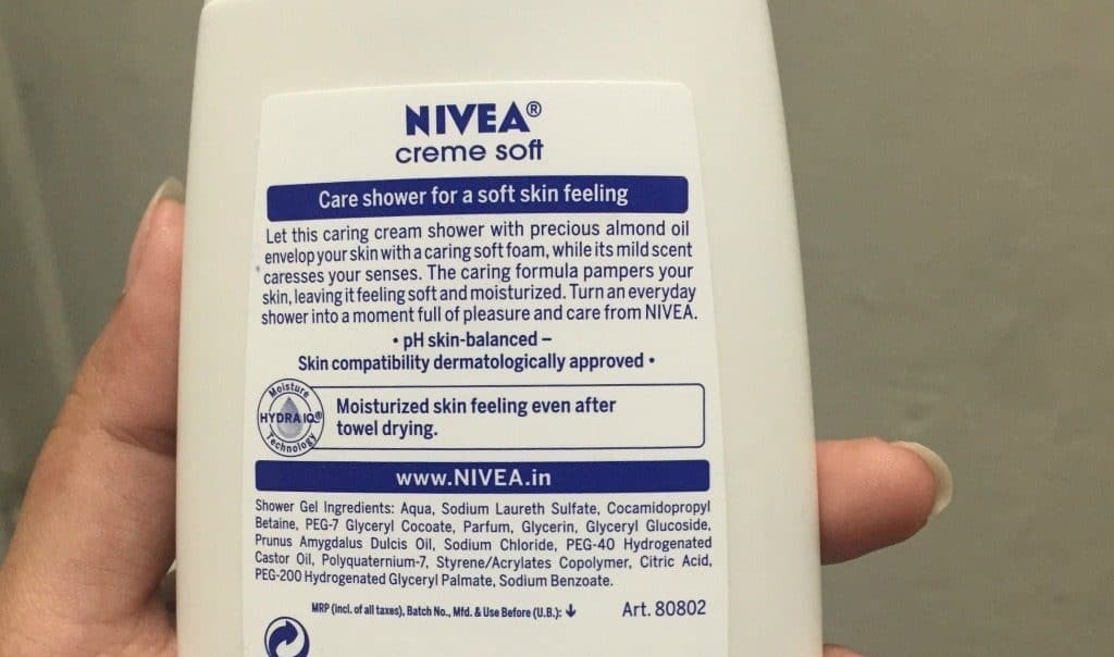Nivea Care Shower Crème Soft Body Wash 1
