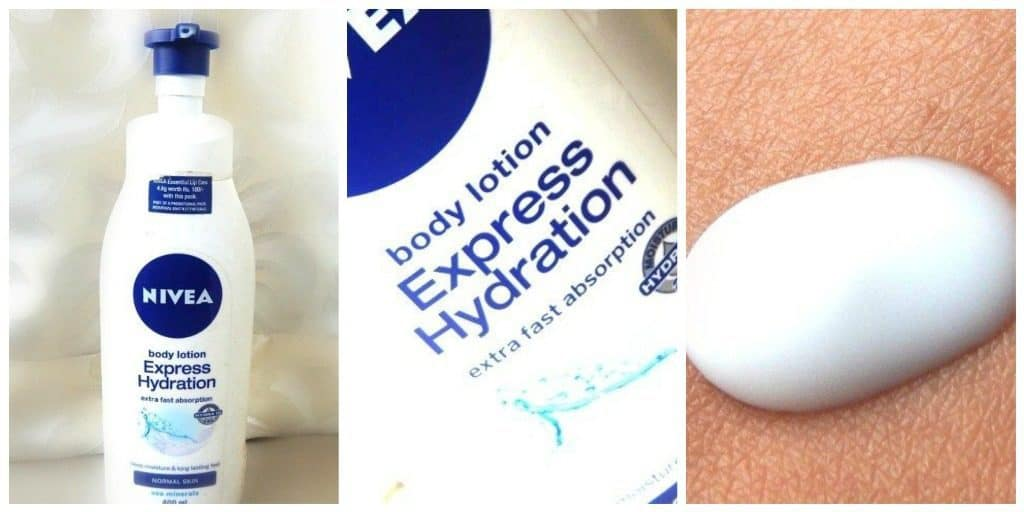 Nivea Express Hydration Body Lotion Review