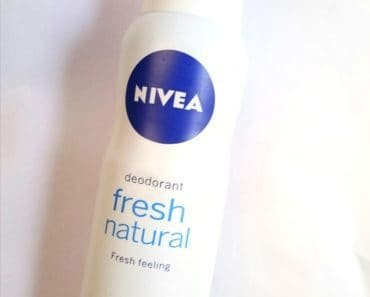 Nivea Fresh Natural Deodorant Spray Review 1