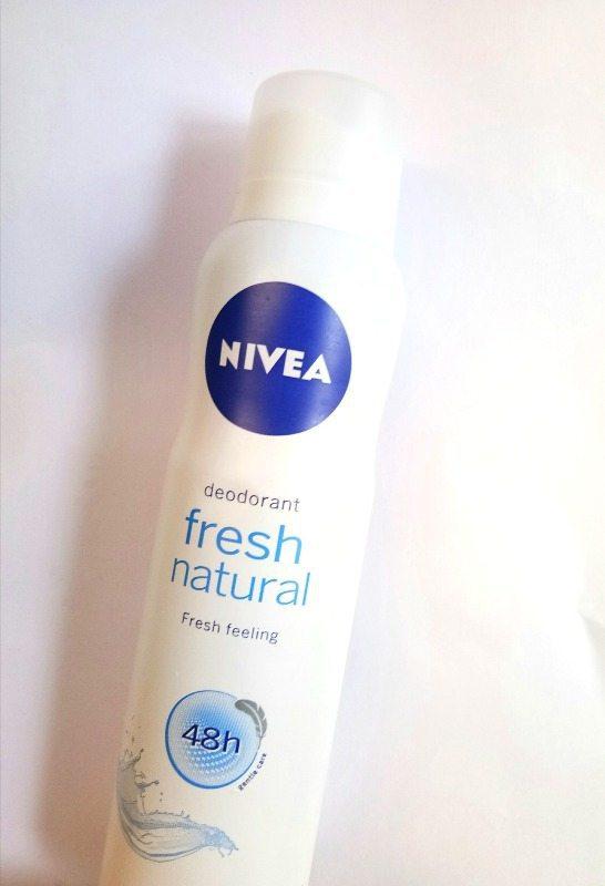 Nivea Fresh Natural Deodorant Spray Review 1