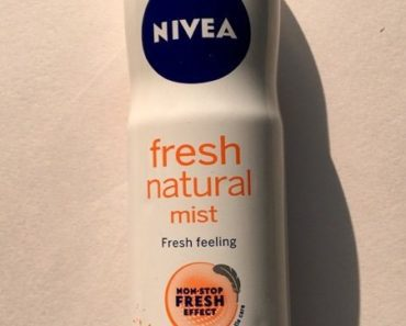Nivea Fresh Natural Mist Review