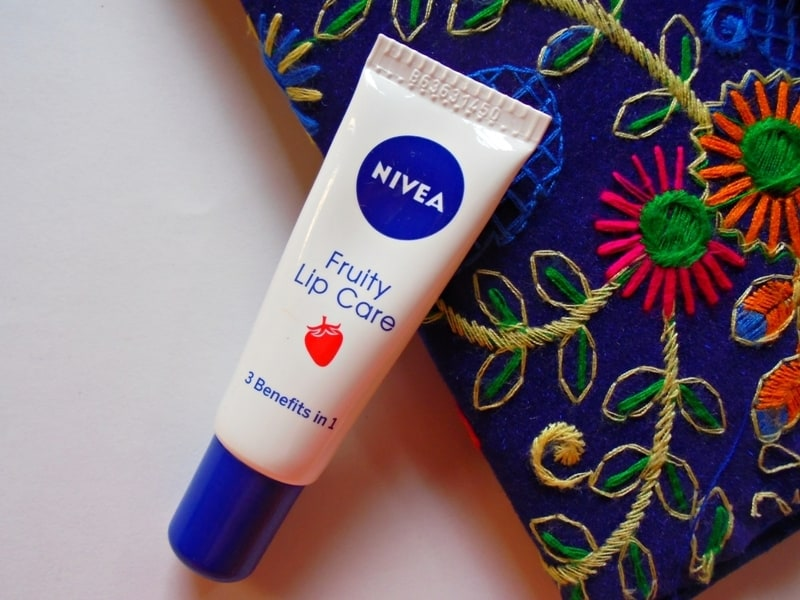 Nivea Fruity Lip Care Review