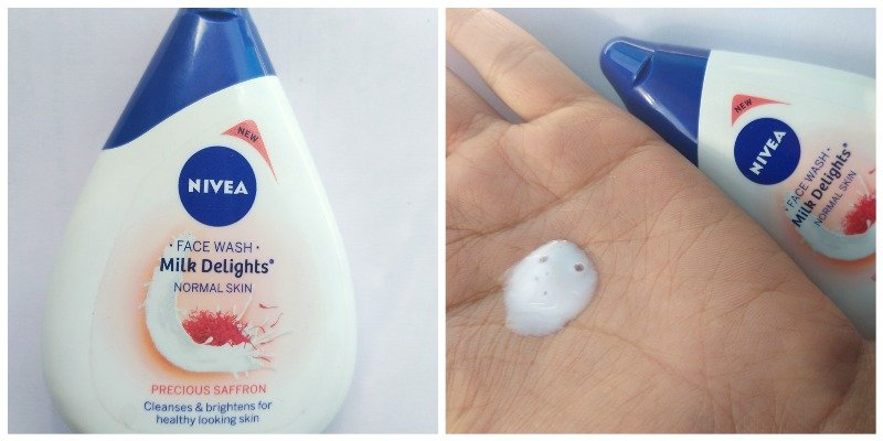 Nivea Milk Delights Face Wash Precious Saffron