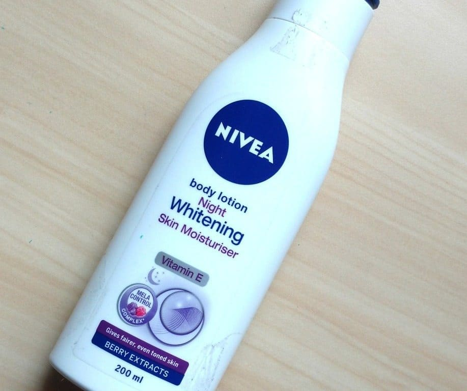 Nivea Night Whitening Body Lotion Review