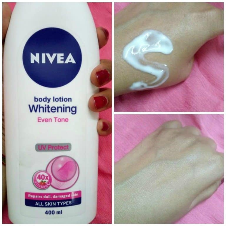 Nivea Whitening Even Tone UV Protect Body Lotion Review
