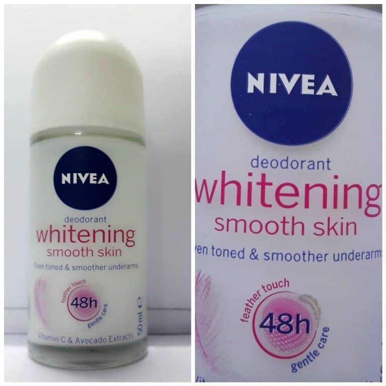 Nivea Whitening Smooth Skin Roll On Review