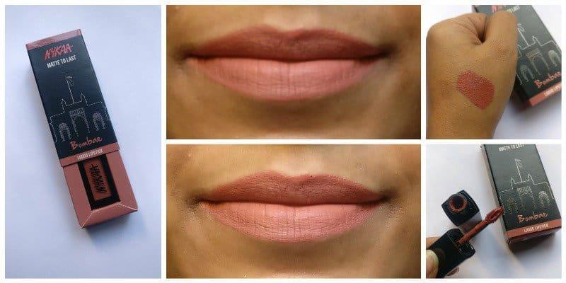 Nykaa Bombae Matte To Last Liquid Lipstick