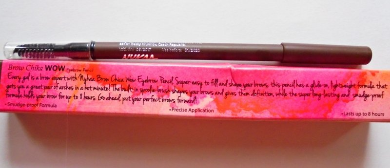 Nykaa Brow Chika WOW Eyebrow Pencil Coven Cocoa 01 Review 3