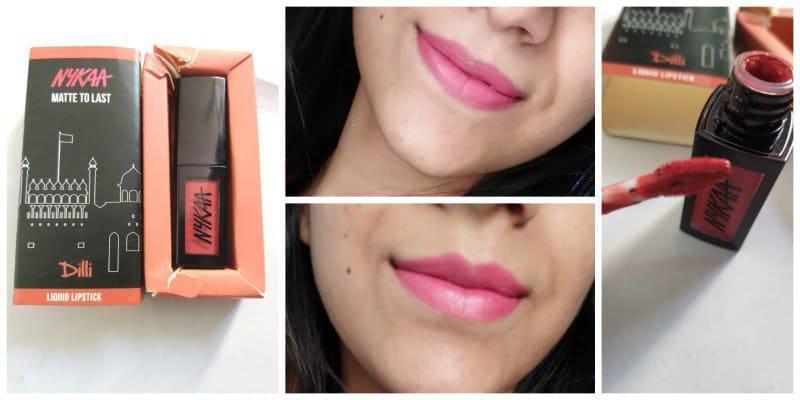 Nykaa Matte to Last Liquid Lipstick Dilli