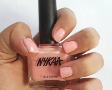 Nykaa Nail Enamel Lilac Scones and Cotton Candy Review