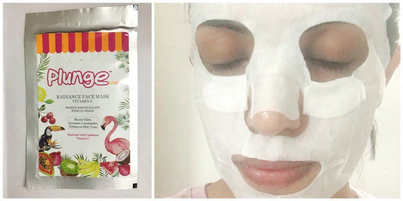 O3+ Plunge Radiance Face Mask Vitamin C
